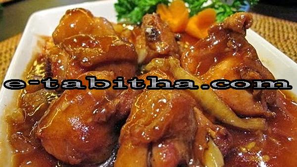 Resep Memasak Ayam Kecap Pedas Manis